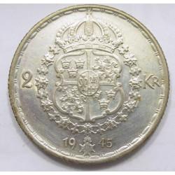 2 kronor 1945 G