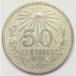 50 centavos 1935