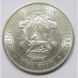1 rupie 1891