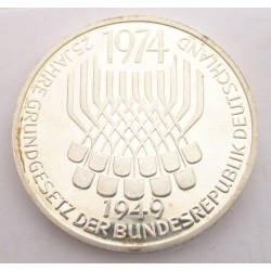 5 mark 1974 F PP - 25th anniversary of The Federal Constitution