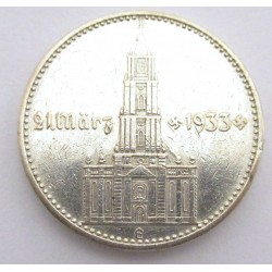 2 reichsmark 1934 E - Garrison church