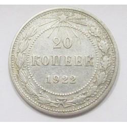 20 kopeks 1922