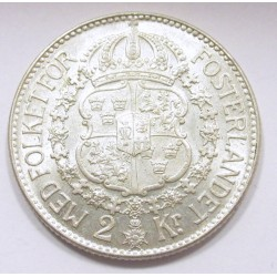 2 kronor 1940 G - 1940 re-engraved 4 variant