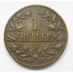1 heller 1908 J
