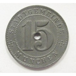 15 pfennig 1918 - München