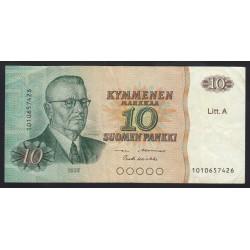 10 markkaa 1980