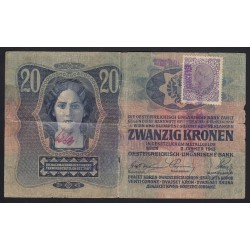 20 kronen/korona 1919 - Nagybecskerek