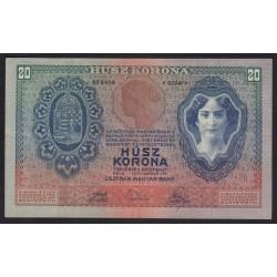 20 kronen/korona 1907