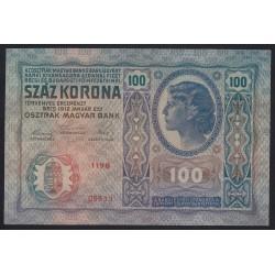 100 kronen/korona 1912