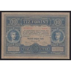 10 gulden/forint 1880