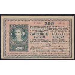 200 kronen/korona 1918