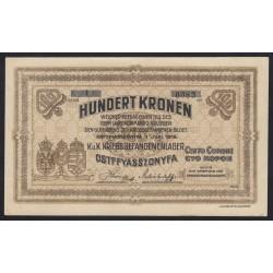 100 kronen/korona 1916 - Ostffyasszonyfa