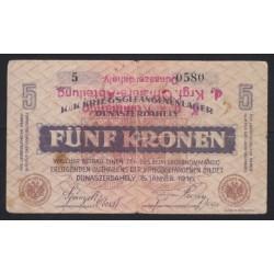 5 kronen/korona 1916 - Dunaszerdahely