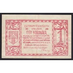 1 korona 1919 - Esztergom