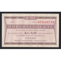 0.50 korun 1974 - Tuzex