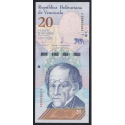 20 bolivares 2018