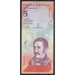 5 bolivares 2018