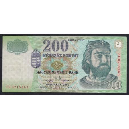 200 forint 2001 FD