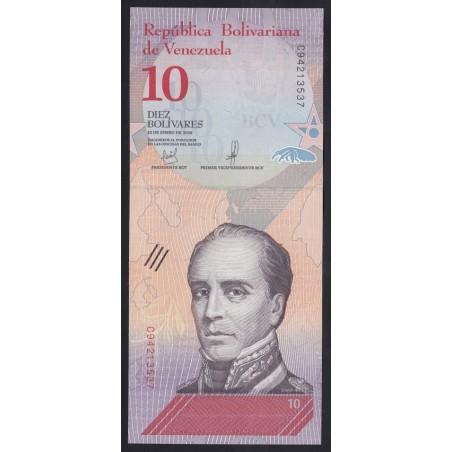 10 bolivares 2018