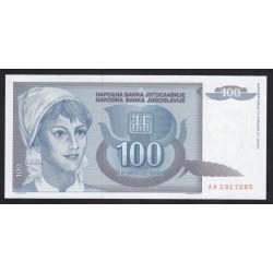 100 dinara 1992
