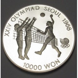 10000 won 1987 PP - Soeul olympics Volleyball