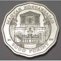 5000 forint 2007 - Debrecen Church