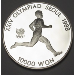 10000 won 1986 - Soeul olympics Runner