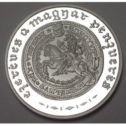 3000 forint 2001 PP - Hungarian Silver Coinage Millennium