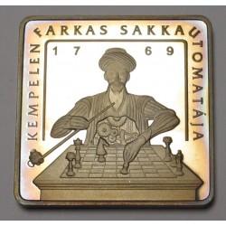 500 forint 2002 PP - Farkas Kempelen's chess machine