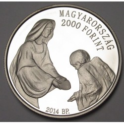 2000 forint 2014 PP - Hungarian Charity Service of the Order of Malta
