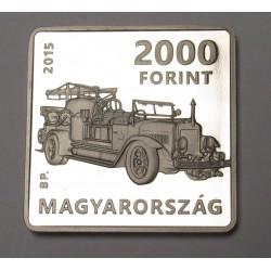 2000 forint 2015 PP - Szilvay Kornél
