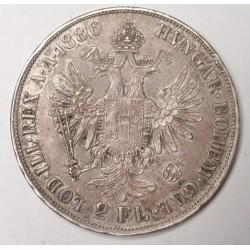 2 florin 1886