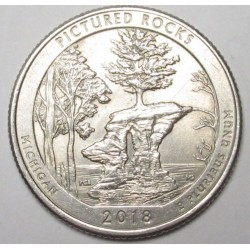 quarter dollar 2018 P - Pictured Rocks