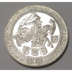 100 schilling 1977 - Hall mint