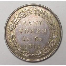 George III. 1 shilling 6 pence 1813