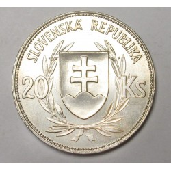 20 korun 1939 - Jozef Tiso
