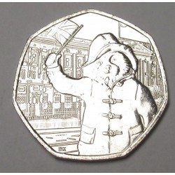 50 pence 2018 - Paddington at Buckingham