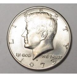Half dollar 1973 D