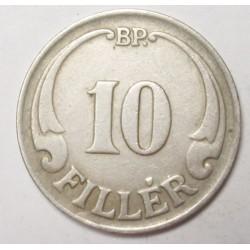 10 fillér 1926