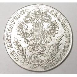 II. József 20 krajcár 1781 E