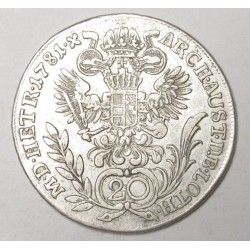 Joseph II. 20 kreuzer 1781 E