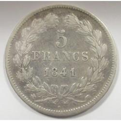 5 francs 1841
