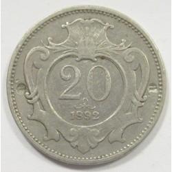 20 heller 1892