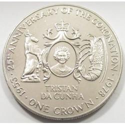 1 crown 1978 - Coronation anniversary