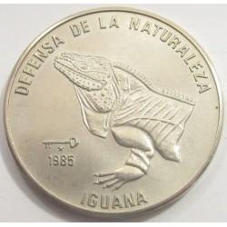 1 peso 1985 - iguana