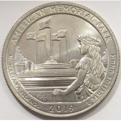 quarter dollar 2019 D - Mariana Islands