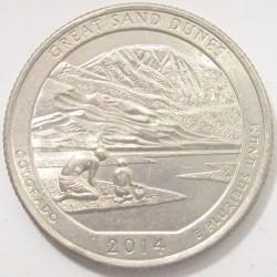 quarter dollar 2014 P - Colorado