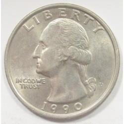 quarter dollar 1990 S