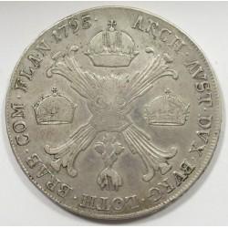 II. Ferenc 1 koronatallér 1795 H