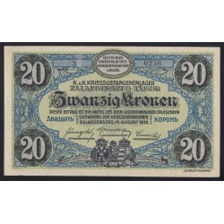 20 kronen/korona 1916 - Zalaegerszeg